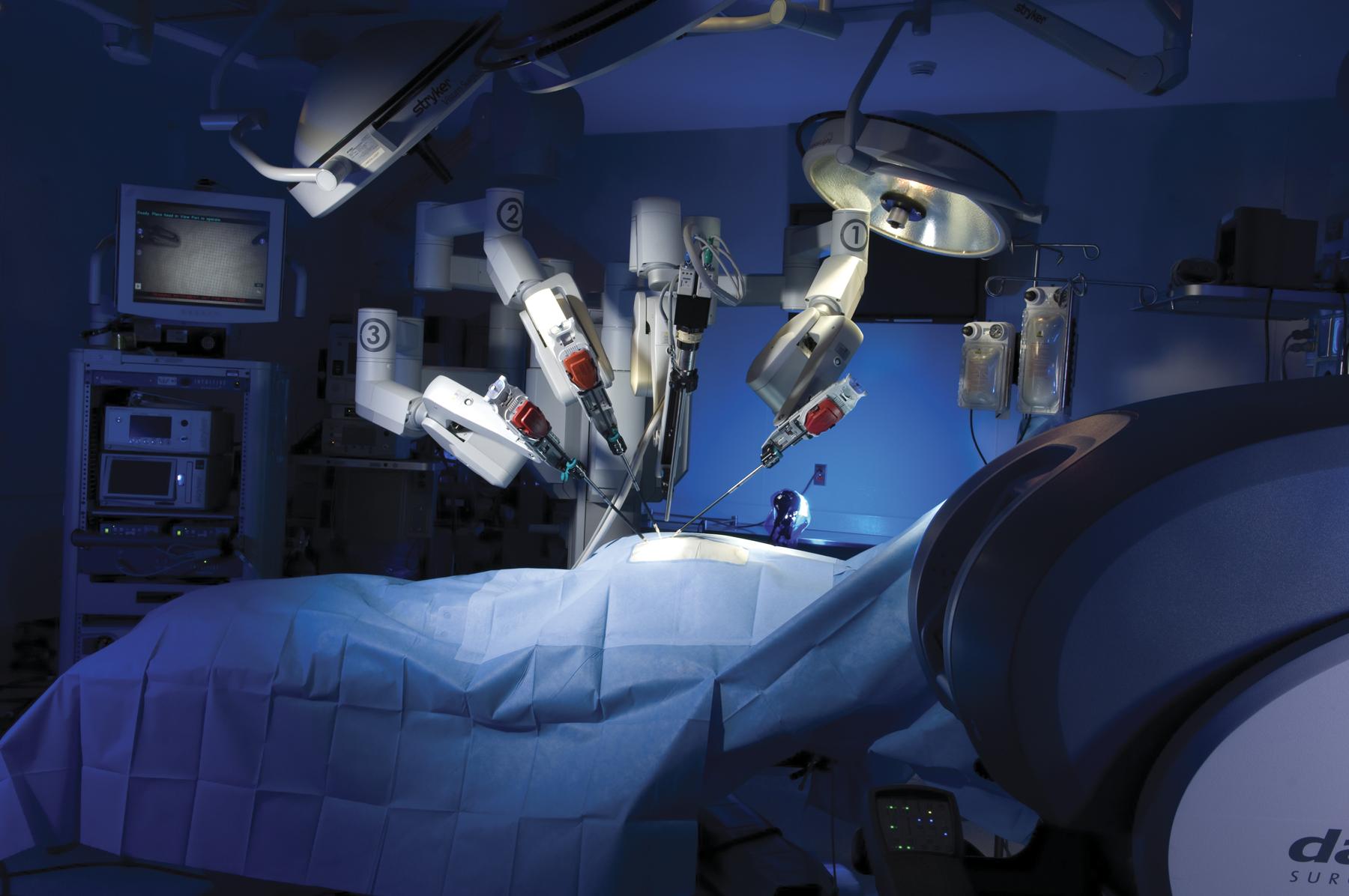 Ριζική Προστατεκτομή με το ρομποτικό σύστημα da vinci